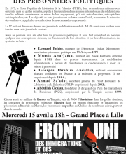 Tract prisonniers politiques 15 avril 2015